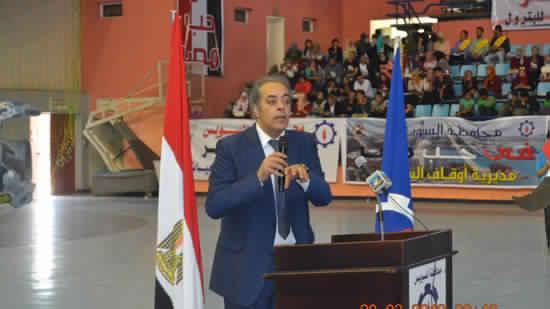 جمال سلامةعلي ،عميدكلية السياسة والاقتصاد -جامعة السويس