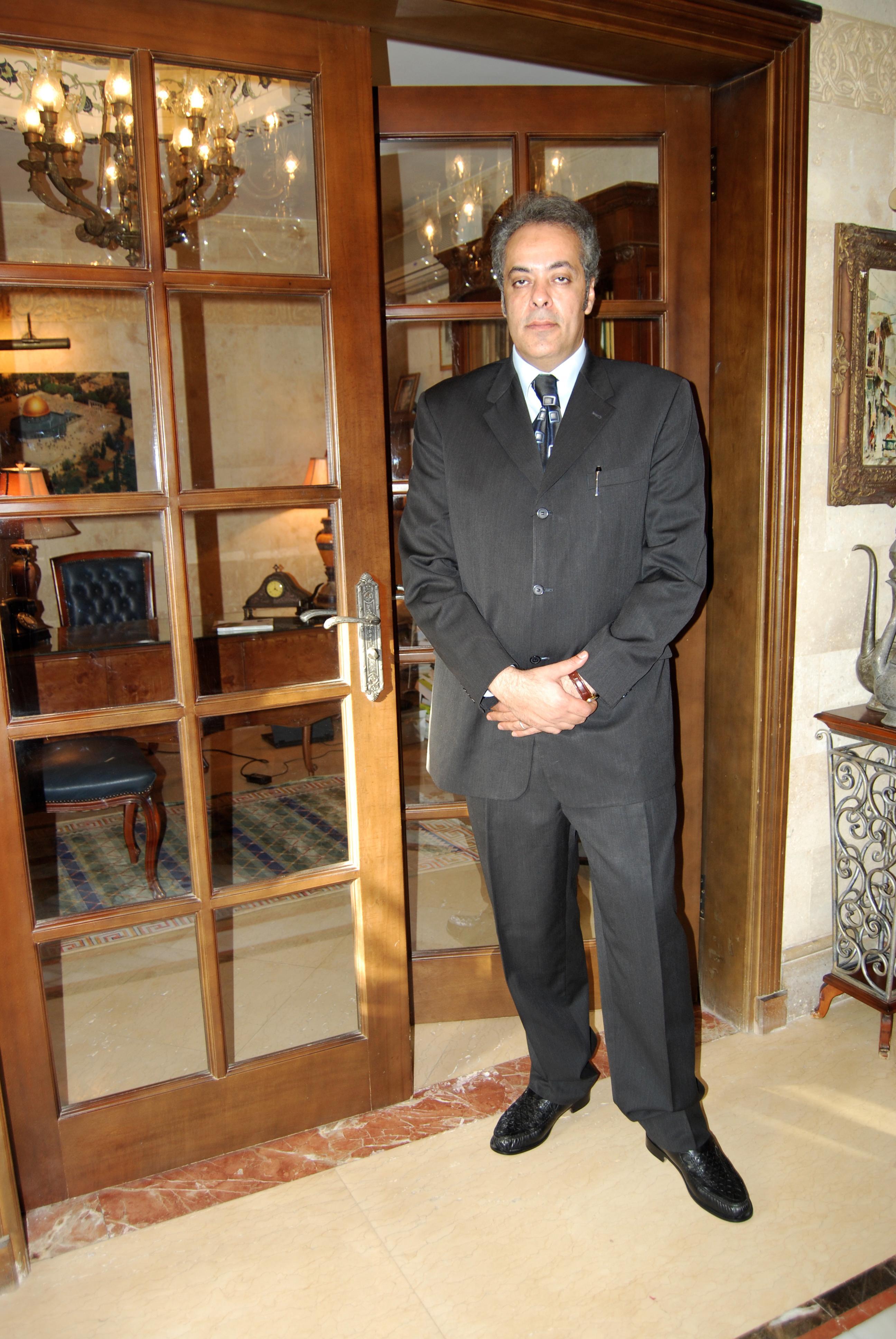 د. جمال سلامة أستاذ ورئيس قسم العلوم السياسية