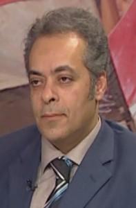 """""""جمال سلامة علي رئيس قسم العلوم السياسية"""""""